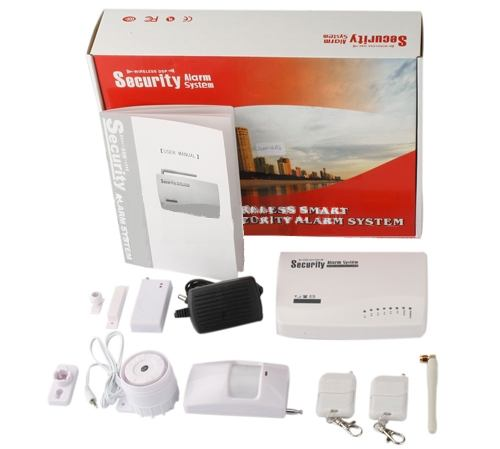 Security alarm system - GSM сигнализация для дачи
